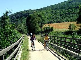 Carrilet Olot - Girona Greenway