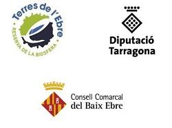Greenway sponsorship logo Val del Zafán - Baix Ebre Greenway