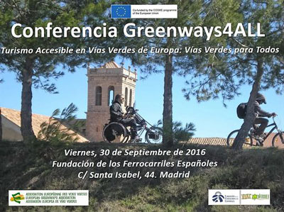 Conferencia Greenways4All 2016