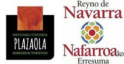 Logo patrocinador de la Vïa Verde  V.V. del Plazaola