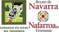 Logo patrocinador de la Vïa Verde  V.V. de Tarazonica